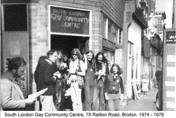 The Brixton Fairies and the South London Gay Community Centre, Brixton 1974-6