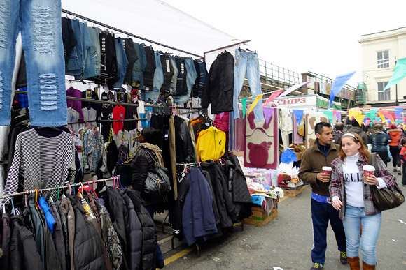 Brixton Flea Market, Saturdays on Brixton Station Road, Brixton London SW9