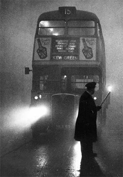 Brixton fog, 7am Sunday morning