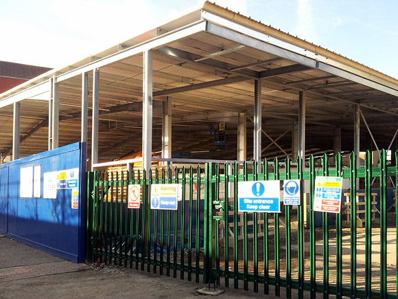 Construction speeds ahead at Brixton Ice Rink