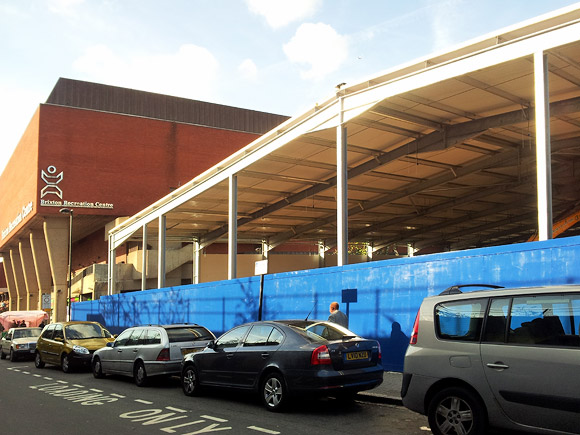 Construction work speeds ahead at Brixton Ice Rink