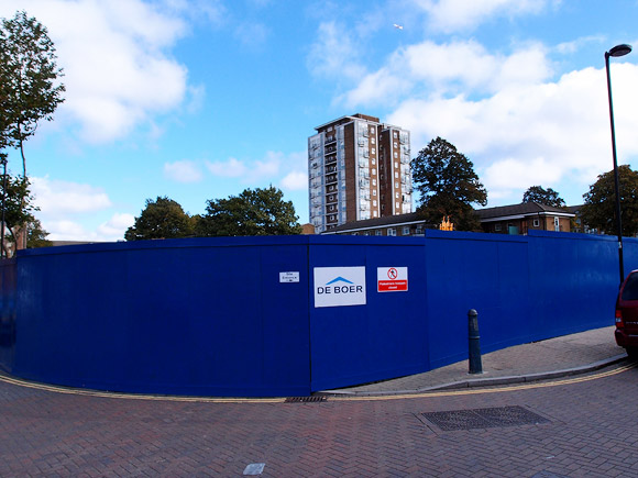 Works starts on Brixton's new ice rink on Pope's Road