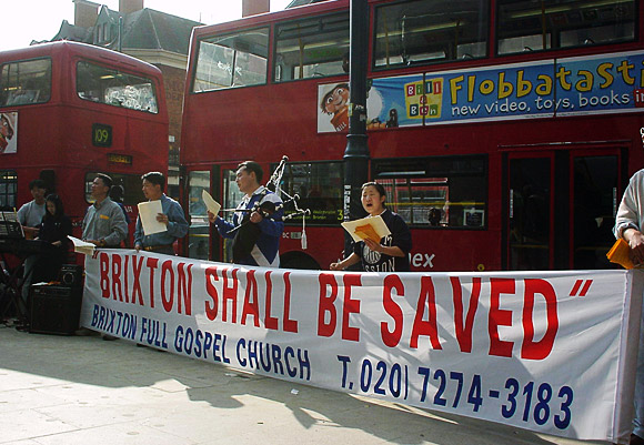 'Brixton Shall be Saved' - archive photo