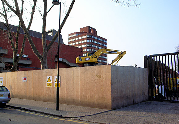 Farewell then, Brixton Pope's Road car park