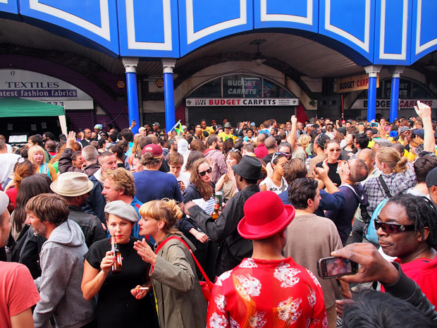 Brixton Splash in photos, central Brixton, London Sunday 5th August 2012