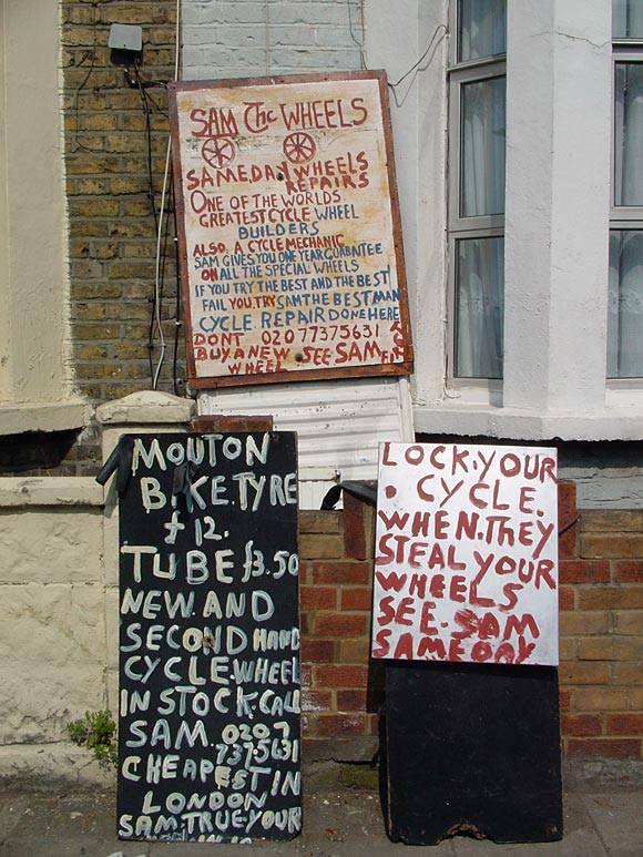 Brixton signs and graffiti - archive some shots