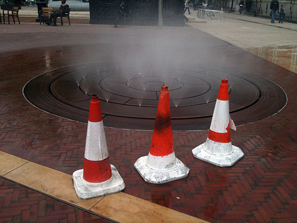 A walk around Brixton - and that rubbish Windrush water feature