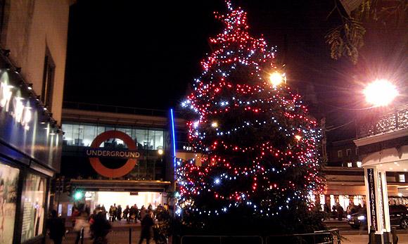 Brixton's saddest Santa