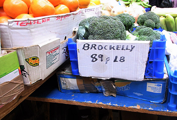 Brockelly, Brixton market