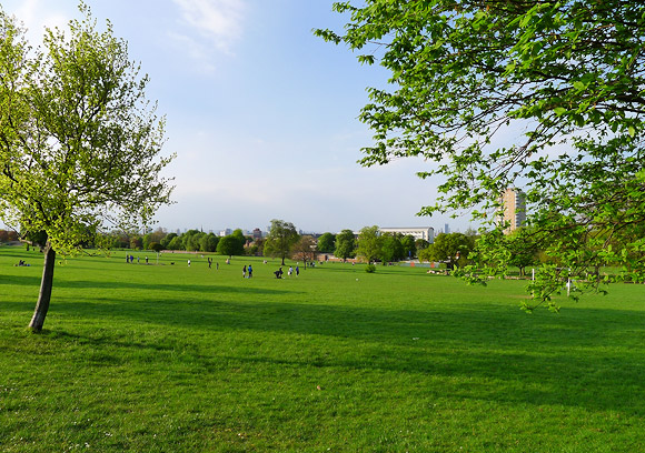 First picnic of the year: Brockwell Park, south London