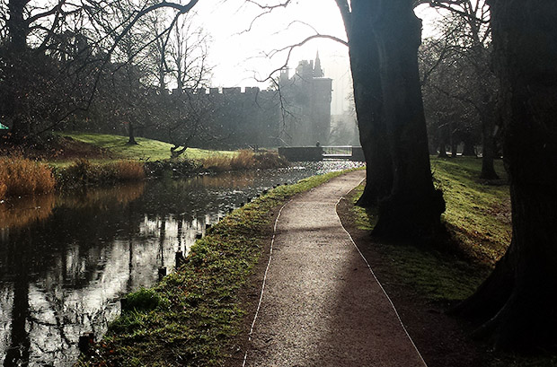A walk around Bute Park, in the former grounds of Cardiff Castle, south Wales
