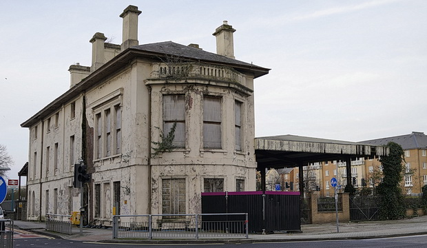 Cardiff's Bute Road Station listed as one of the UK's top 10 most endangered buildings, September 2016
