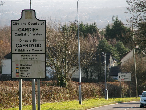 A walk up Caerphilly Mountain, north Cardiff, south Wales