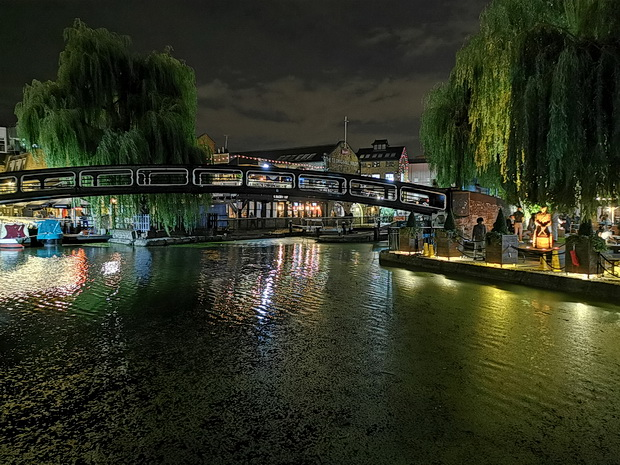 In photos: London's Camden Lock at night