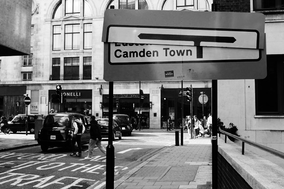 Pic of the day: which way is Camden Town?