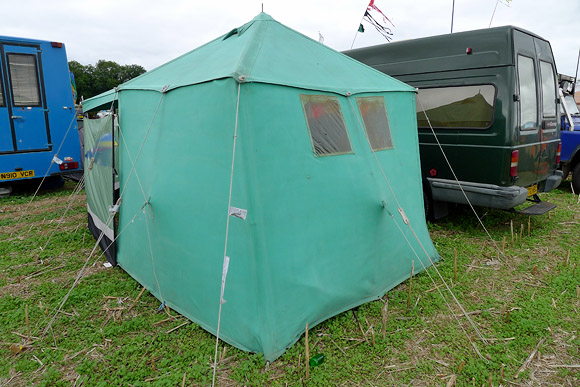 Precarious caravans and curious tents, Endorse It Festival 2011
