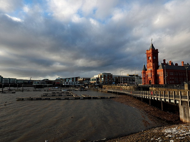 A walk around Cardiff Bay, south Wales