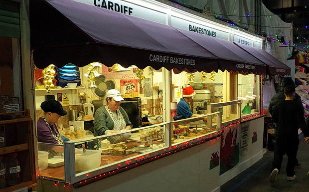 Photos of Cardiff Central Market, central Cardiff, south Wales