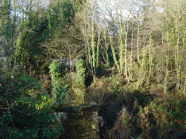 In photos: Cefn Onn Halt fifteen years ago, December 2004