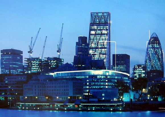 The 52-storey Cheesegrater tower at 122 Leadenhall starts