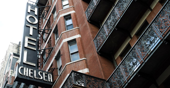 Chelsea Hotel, New York closes its doors to guests