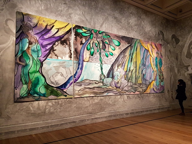Chris Ofili: Weaving Magic at the National Gallery, May 2017