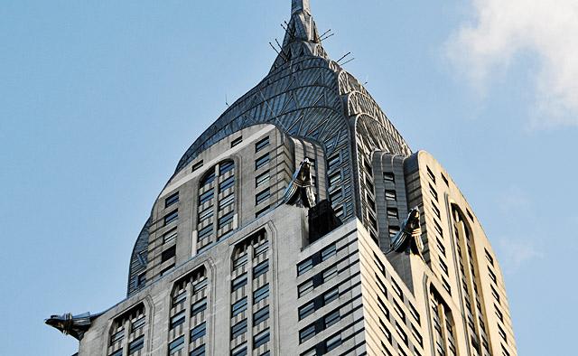 the art deco splendour of the stunning chrysler building new york