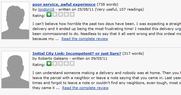 Clueless Citylink really are the worst courier company in the UK