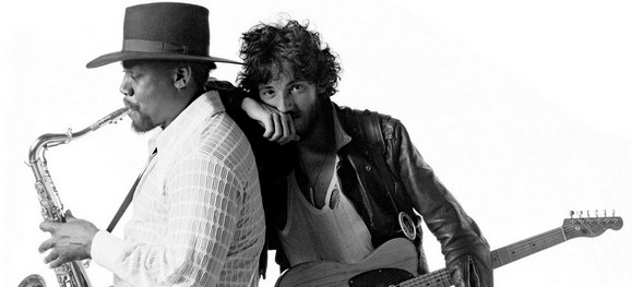 bruce springsteen clarence clemons silhouette. house tattoo Clarence Clemons dies ruce springsteen clarence clemons kiss.