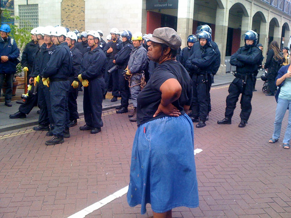 Police evict Brixton Clifton Mansions in early morning operation