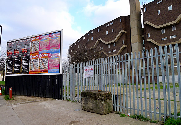 Illegal Coldharbour Lane, Brixton billboard - update