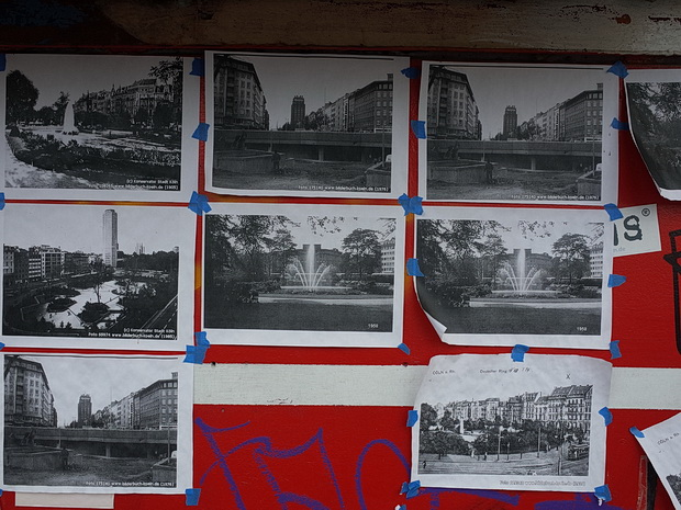 Cologne in photos: street scenes, graffiti, trains and The Monochrome Set, May 2018
