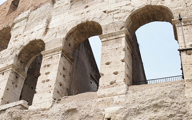 In photos: A visit to the ancient Colosseum in Rome