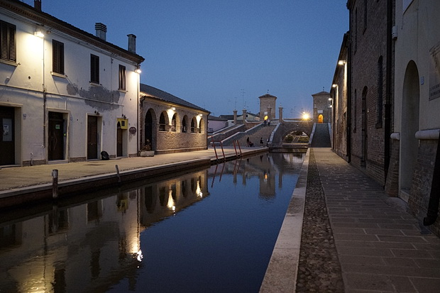 The canals and stunning architecture of Comacchio in northern Italy