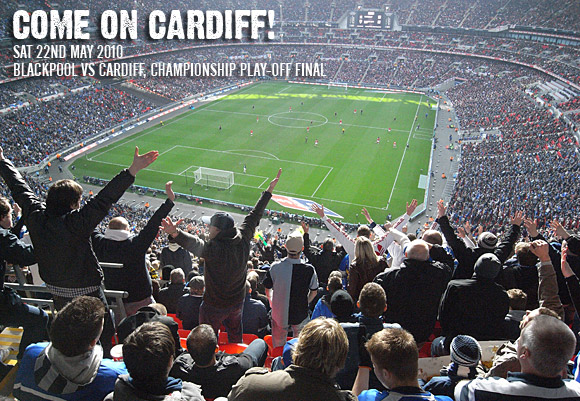 Come on Cardiff! The Play Offs final is here!