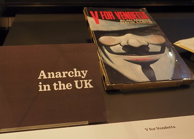 Comics Unmasked, Art and Anarchy in the UK, British Library Exhibition, London