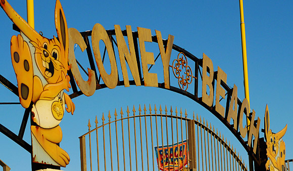 Coney Beach amusement park: we salute you on your 90th birthday