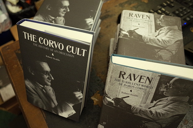 The Corvo Cult book launch at Maggs Bros, 50 Berkeley Square, London W1J 5BA, Thursday 23rd October 2014