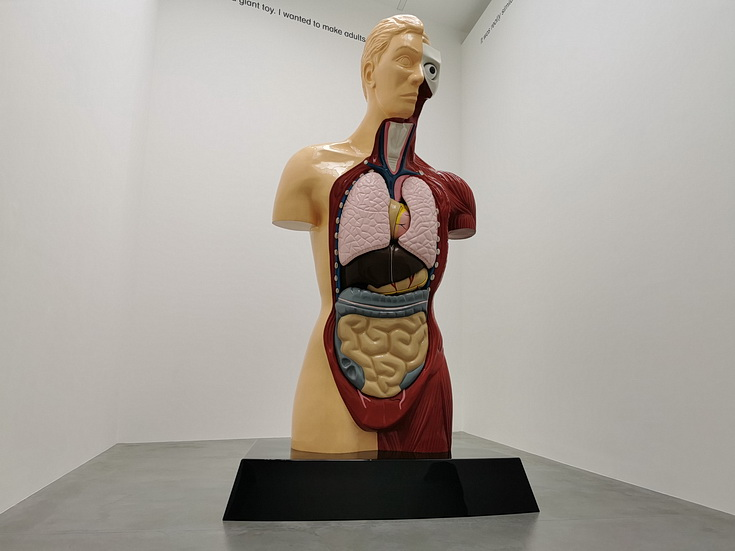 Damien Hirst - End Of A Century - fascinating exhibition at the Newport Street Gallery, London