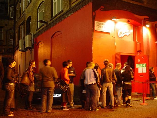 Denmark Street, 12 Bar Club & The Astoria, Soho, London, April 2004