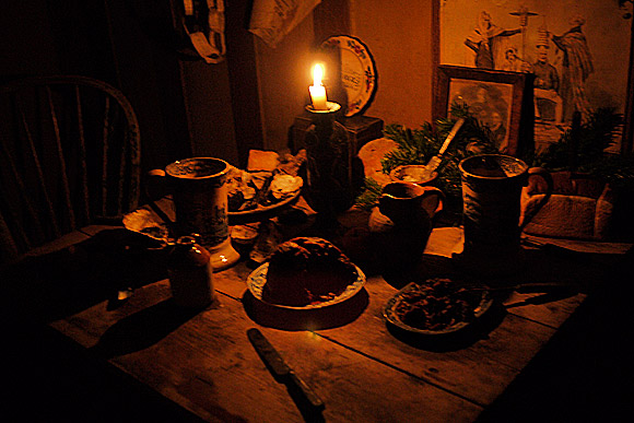A Victorian Christmas at Dennis Severs's house, 18 Folgate Street