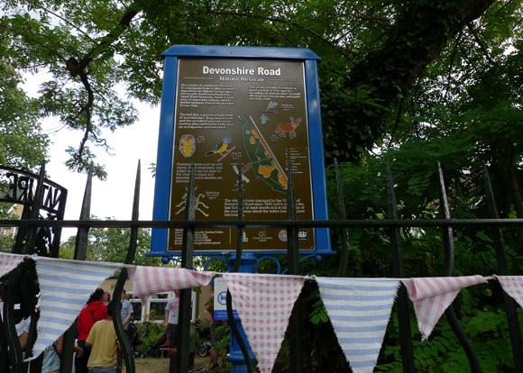 Devonshire Road Nature Reserve Annual Open Day