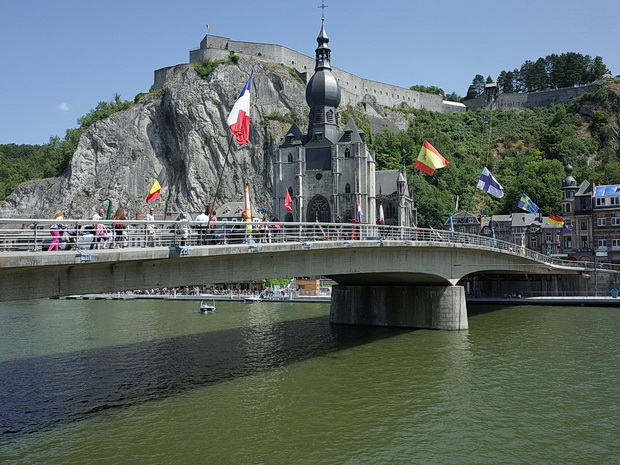 Dinant, Belgium - a quick photo stroll around the riverside town, July 2018