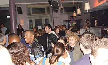 downstairs dance floor at the Dogstar