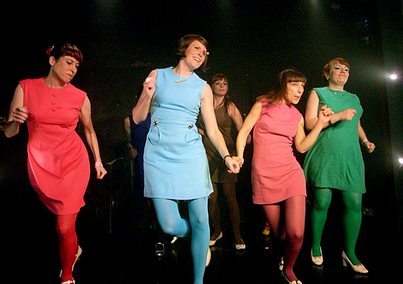 Actionettes shake it at the gay bar: Duckie, Vauxhall