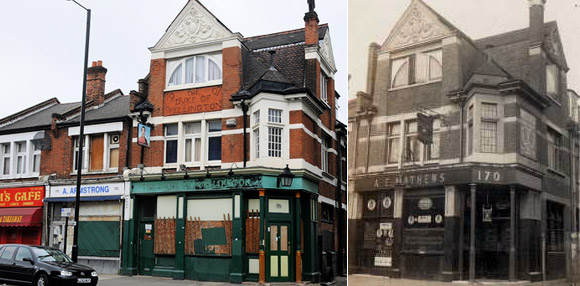 Duke of Wellington, Acre Lane Brixton - delightful Edwardian pub faces the wrecking ball