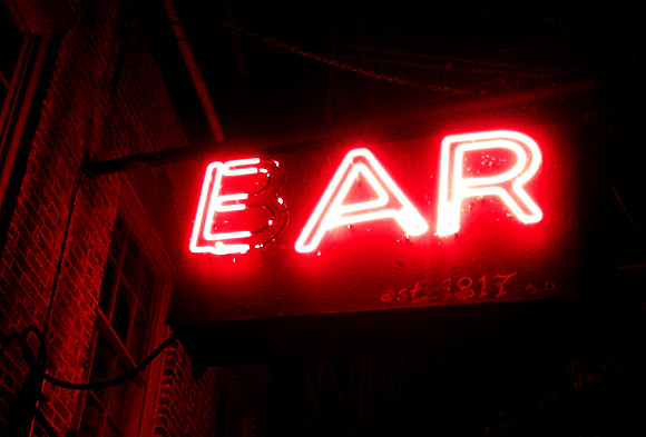 The Ear Inn - the oldest working bar in NYC