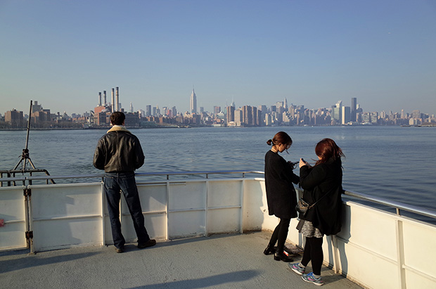 A trip on the East River Ferry from Williamsburg to E 34th