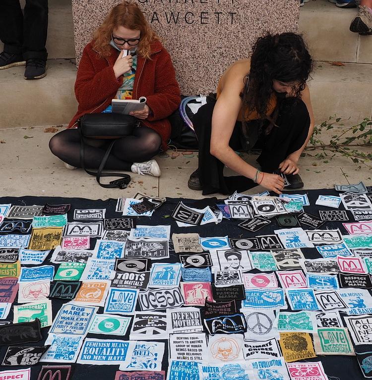In photos: Extinction Rebellion in Trafalgar Square, London, 2nd September 2020