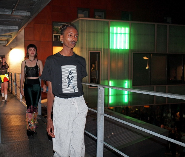 In photos: Dalston Open House, Faro Arts Collective fashion show with Zero London, 8th Sept 2019